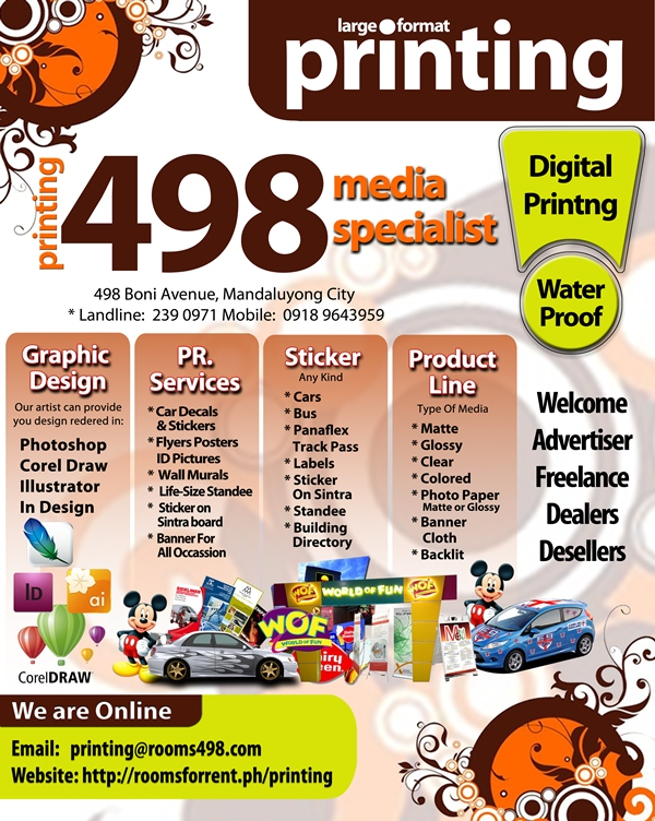 Printing Service Printing Services Brochures