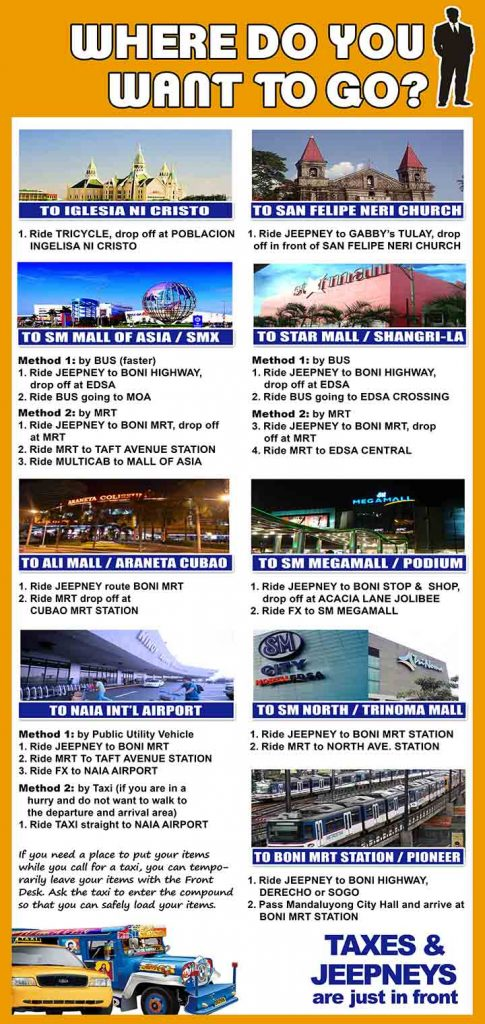 Landmark - Rooms for Rent-Accommodation-Daily-Monthly-roomsforrent.ph